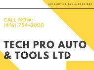 Automotive Mechanic Tools Provider