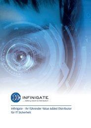 Infinigate Imagebroschuere
