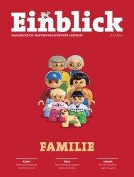 CDU-Magazin Einblick (Ausgabe 7) - Thema: Familie