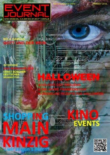 EVENT JOURNAL September - Oktober 2018