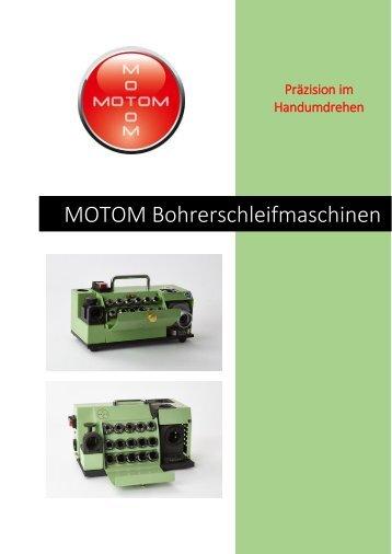 Motom BSM Bohrerschleifmaschinen Übersicht 2018-skantek