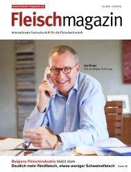 Fleischmagazin 10/2018 – Titelgeschichte