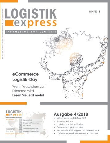 LOGISTIK express Fachzeitschrift | 2018 Journal 4