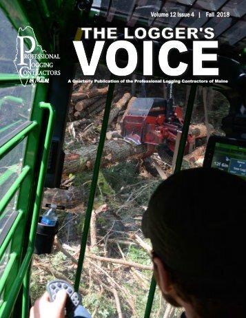 PLC Loggers Voice Fall 2018