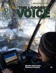 PLC Loggers Voice Spring 2018