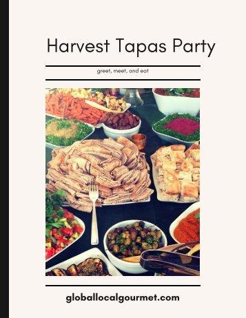 Harvest Tapas Party(1)