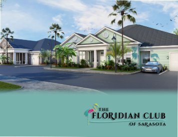 The Floridian Club of Sarasota E-Brochure