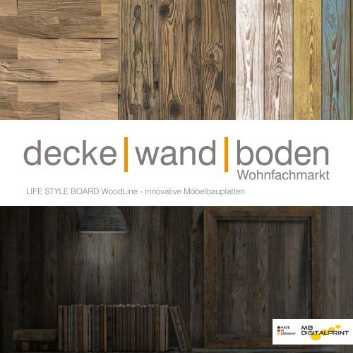 LIFE STYLE BOARD WoodLine Sortiment