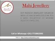 Buy Swarovski jewellery online Through Mahi Jewellery-converted