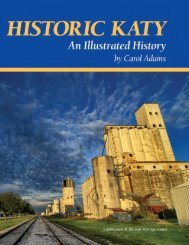 Historic Katy: An Illustrated History