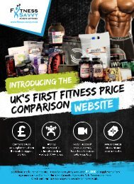 Fitness Savvy First Advert