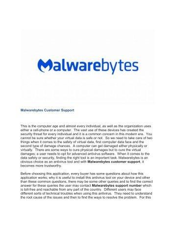 Malwarebytes Customer Support-output