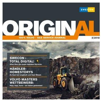 "Swecon Service-Journal ""Original""  2-2018"