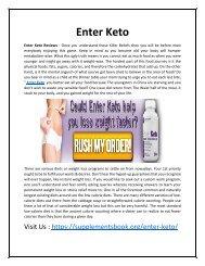 Enter Keto