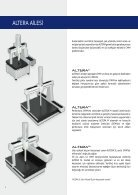 LK 3D Koordinat Ölçme Cihaz ALTERA - Page 4