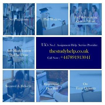 Coursework uk -The Study Help