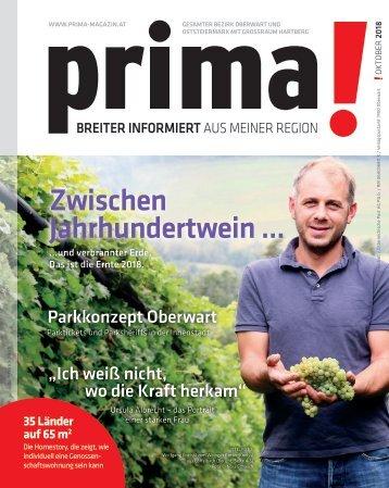 prima! Magazin - Ausgabe Oktober 2018