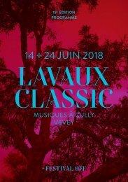 Lavaux Classic 2018
