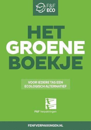 F&F Het Groene Boekje 2018