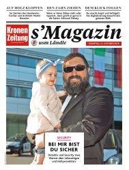 s'Magazin usm Ländle, 14. Oktober 2018