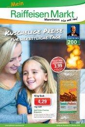 Raiffeisen Mannheim Prospekt Oktober 2018 KW41