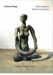 Dietrich Klinge - Neue Skulpturen