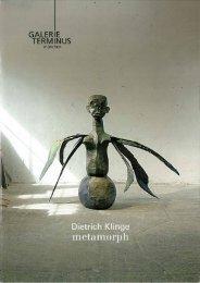 Dietrich Klinge - metamorph