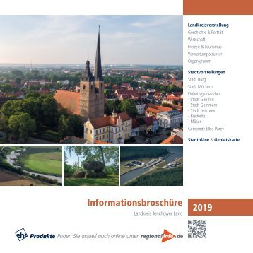 Informationsbroschüre Landkreis Jerichower Land 2019
