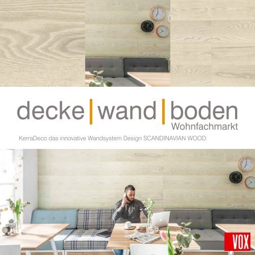 VOX KerraDeco Wandverkleidung SCANDINAVIAN WOOD