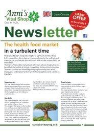 The health food market