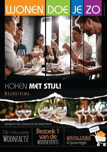 WonenDoeJeZo in regio Zuid Nederland, #november 2018
