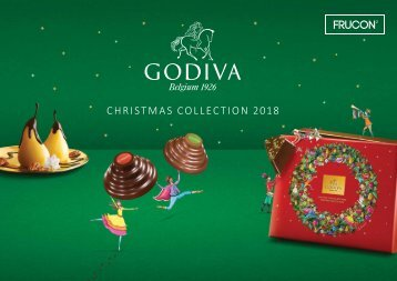GODIVA Christmas Corporate Catalogue 2018
