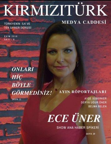KırmızıTürk Medya Caddesi Ekim 2018 Sayı 6