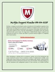McAfee Antivirus Helpline Number 0800-014-8285  McAfee Antivirus Support UK