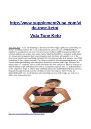 http://www.supplement2usa.com/vida-tone-keto/