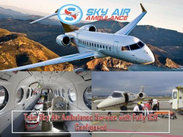 Avail Safe and Quickest Air Ambulance Service in Hyderabad