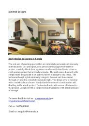 best Interior designers in Kerala-converted