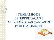 Carta a Timóteo IBAD