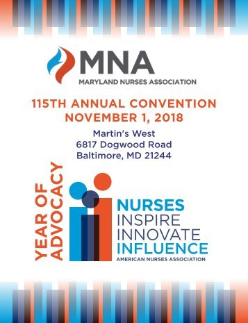 2018 Maryland Nurses Association Annual Convention
