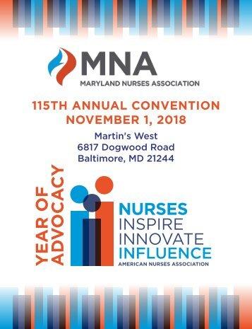 2018 Maryland Nurses Association Annual Convention