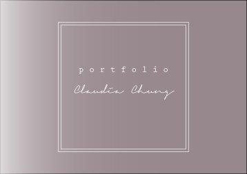 Portfólio de Claudia Chung