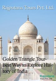 Golden Triangle Tour- Best Way to Explore History of India