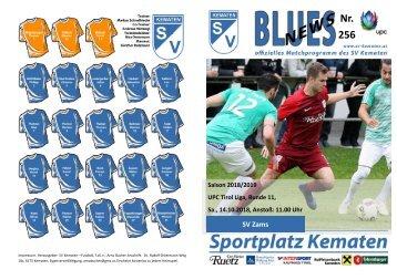 Blues News 256: SV Kematen vs. SV Zams