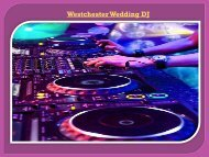 Westchester Wedding DJ