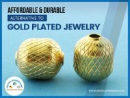 Different Types of Gold Filled Beads for Jewelry Making