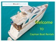 Boats for Hire Grand Cayman