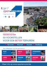 Open Tervuren krant 2018