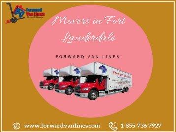 Movers in Fort Lauderdale   Forward Van Lines, USA