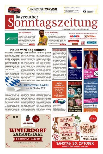 2018-10-14 Bayreuther Sonntagszeitung