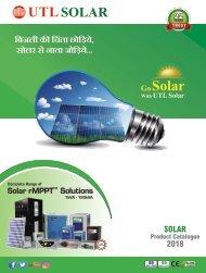 Solar Product catalogue - 2018